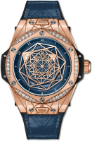 Hublot Big Bang One Click Sang Bleu King Gold Blue Diamonds 465.OS.7189.VR.1204.MXM19