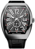Franck Muller Mens Collection Vanguard Slim V 45 SC DT BR Steel
