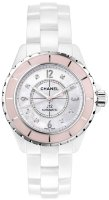 Chanel Jewelry J12 Soft Rose Watch H5199