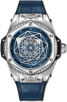 Hublot Big Bang One Click Sang Bleu Steel Blue Diamonds 465.SS.7179.VR.1204.MXM19
