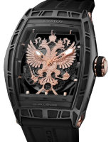 Cvstos Hour Minute Seconde Challenge World Coat Of Arms WCOA Steel