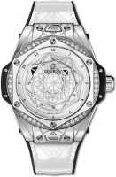 Hublot Big Bang One Click Sang Bleu Steel White Diamonds 465.SS.2027.VR.1204.MXM19