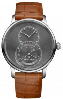 Jaquet Droz Grande Seconde Quantieme Satin-brushed Anthracite J007030248
