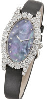 Chopard Diamond Watches Heure Oval Vertical 139380-1004