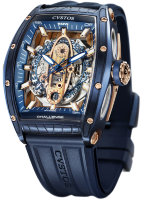 Cvstos Hour Minute Seconde Challenge New Sea-liner SL N Steel Blue