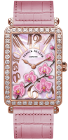 Franck Muller Ladies Collection Long Island 952 QZ ORC D Rose Gold Rose