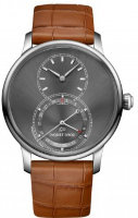 Jaquet Droz Grande Seconde Quantieme Satin-brushed Anthracite J007010243