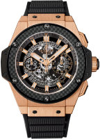 Hublot King Power Unico Gold Carbon 48 701.OQ.0180.RX