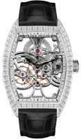 Franck Muller Mens Collection Cintree Curvex Skeleton 8880 B S6 SQT BAG