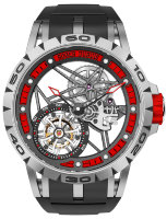 Roger Dubuis Excalibur Spider Skeleton Flying Tourbillon RDDBEX0545