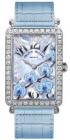 Franck Muller Ladies Collection Long Island 952 QZ ORC D White Gold Blue