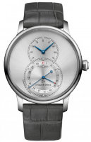 Jaquet Droz Grande Seconde Quantieme Satin-brushed Gray J007030247