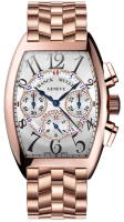 Franck Muller Mens Collection Cintree Curvex Chronograph 8880 CC AT Rose Gold