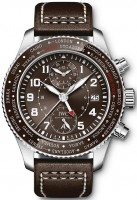 IWC Pilots Pilots Watch Timezoner Chronograph Edition 80 Years Flight To New York IW395003