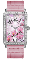 Franck Muller Ladies Collection Long Island 952 QZ ORC D White Gold Pink