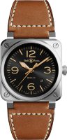 Bell & Ross Instruments New BR 03-92 Golden Heritage BR0392-GH-ST/SCA