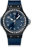 Hublot Big Bang Ceramic Blue Diamonds 38 mm 361.CM.7170.LR.1204