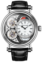 Speake-Marin Haute Horlogerie Black Magister Vertical Double Tourbillon