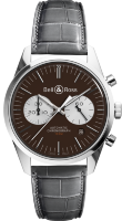 Bell & Ross Vintage Chronograph BR 126 OFFICER BROWN