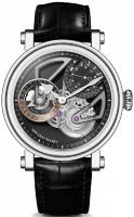 Speake-Marin One & Two Openworked Dual Time Titanium 38 mm 413809250