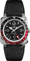 Bell & Ross Instruments New BR 03-93 GMT BR0393-BL-ST/SCA