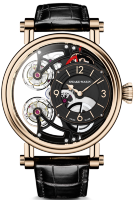 Speake-Marin Haute Horlogerie Magister Vertical Double Tourbillon 46 mm Red Gold