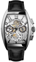 Franck Muller Mens Collection Cintree Curvex Grande Date 8083 CC GD SQT 5N B