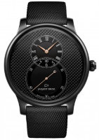 Jaquet Droz Grande Seconde Black Ceramic Clous De Paris J003035540