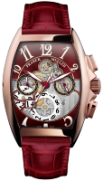 Franck Muller Mens Collection Cintree Curvex Grande Date 8083 CC GD SQT OG R