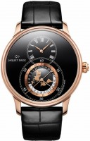 Jaquet Droz Grande Seconde Dual Time Black Enamel j016033202