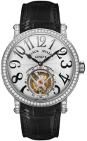 Franck Muller Mens Collection Round 7008 T D White Gold