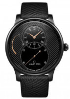 Jaquet Droz Grande Seconde Power Reserve Black Ceramic Clous De Paris J027035541