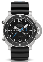 Officine Panerai Luminor Submersible 1950 3 Days Chrono Flyback Automatic Titanio PAM00615