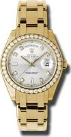 Rolex Day-Date Special Edition Yellow Gold Masterpiece Ladies 18948 SD
