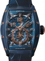 Cvstos Hour Minute Seconde Challenge Jet-Liner II P-S Automatic CVT-JET2-PS BLUE STEEL 5N COMP