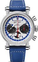 Speake-Marin Vintage London Chronograph Triple Date Blue Dial 514208010