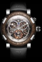 Romain Jerome Sea Titanic Inside Exceptional Pieces Steel Chrono Tourbillon RJ.T.TO.CH.003.01