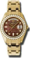 Rolex Day-Date Special Edition Yellow Gold Masterpiece Ladies 18948 DKMJD