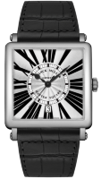 Franck Muller Mens Collection Master Square 6000 H SC DT R White Gold