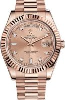 Rolex Day-Date II President Pink Gold 218235 CHDP