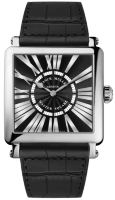 Franck Muller Mens Collection Master Square 6000 H QZ REL R White Gold