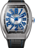 Franck Muller Mens Collection Vanguard Crazy Hours V 45 CH BR (BL)