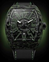 Franck Muller Mens Collection Vanguard V 45 SC DT Krypton Carbon.VE