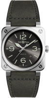 Bell&Ross Instruments BR 03-92 GREY LUM BR0392-GC3-ST/SCA