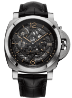 Officine Panerai L'astronomo Luminor 1950 Tourbillon Moon Phases Equation Of Time GMT 50mm PAM00920