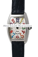 Franck Muller Ladies Medium Cintree Curvex 7502 QZ COL DRM-1