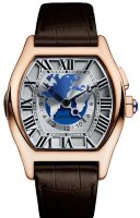 Cartier Tortue Multiple Time Zones W1580049