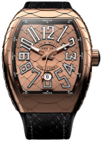 Franck Muller Mens Collection Vanguard Cobra V 45 SC DT GOLD COBRA
