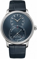 Jaquet Droz Grande Seconde Quantieme Satin-Brushed Blue j007010244