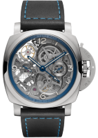 Officine Panerai Lo Scienziato Luminor 1950 Tourbillon GMT Titanio 47 mm PAM00767